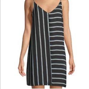 1. STATE Silk Spaghetti Strap Dress